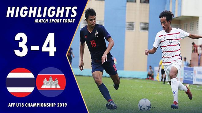 Bong da, bóng đá, truc tiep bong da, trực tiếp bóng đá, lich thi dau bong da hom nay, lịch thi đấu bóng đá hôm nay, U18 Campuchia vs U18 Singapore, BXH U18 Đông Nam Á