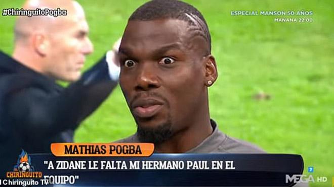 Bong da, bóng đá, lich thi dau bong da hom nay, MU, chuyển nhượng MU, Real, chuyển nhượng Real, Real mua Pogba, Pogba rời MU, Pogba, Team Pogba, Mino Raiola, Zidane, Mathias Pogba
