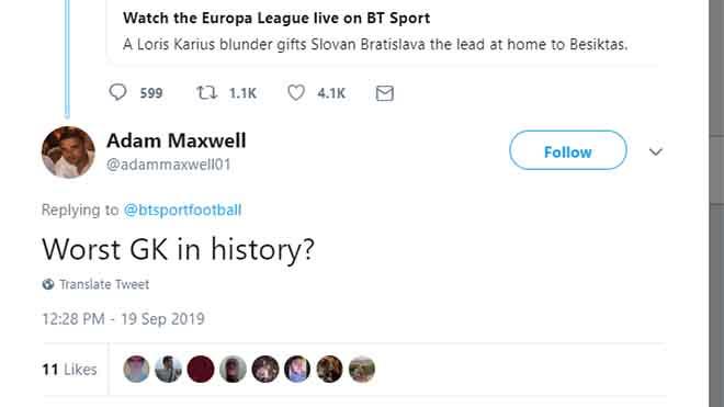 Bong da, bóng đá, tin tức bóng đá, tin tức bóng đá hôm nay, lich thi dau bong da hom nay, Karius, thảm họa Karius, Karius sai lầm, Liverpool, Besiktas, Cúp C2, Cúp C1