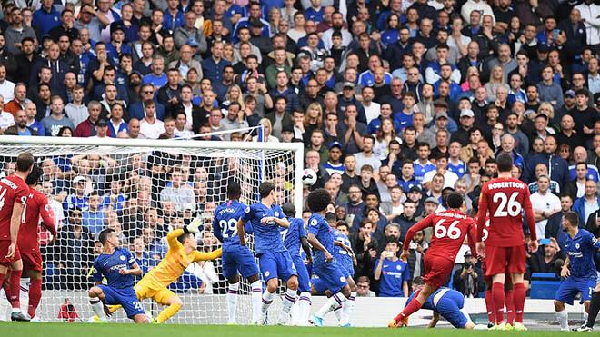 Bong da, bóng đá, ket qua bong da, kết quả bóng đá, Chelsea vs Liverpool, Chelsea 1-2 Liverpool, tin tức bóng đá hôm nay, Liverpool, Chelsea, Lampard, Alexander-Arnold