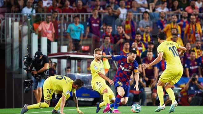 Bong da, bóng đá, lich thi dau bong da hom nay, tin tức bóng đá, tin tức bóng đá hôm nay, Barca, Barca vs Villarreal, Barca 2-1 Villarreal, Messi, Messi chấn thương