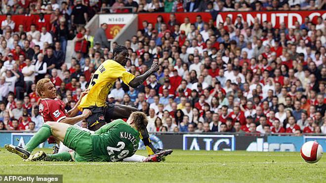 bong da, bóng đá, truc tiep bong da, trực tiếp bóng đá, lich thi dau bong da hom nay, K+, K+PM, bong da anh, MU đấu với Arsenal, MU vs Arsenal, MU, BXH bóng đá Anh, Ole, Arsenal 2006