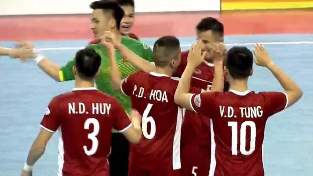 Lịch thi đấu bán kết bóng đá Futsal Đông Nam Á. Trực tiếp Việt Nam đấu với Thái Lan, Indonesia vs Myanmar. Trực tiếp VTC3, BĐTV