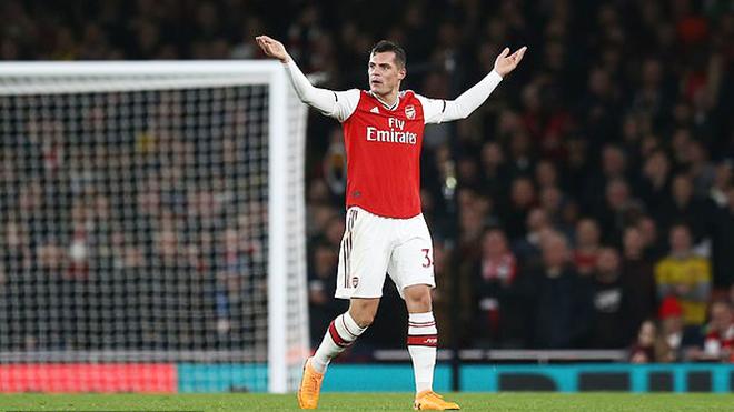 Bong da, bóng đá, lich thi dau bong da hom nay, ket qua bong da, kết quả bóng đá, Arsenal vs Crystal Palace, Arsenal 2-2 Crystal Palce, đội trưởng Arsenal, Xhaka, Arsenal