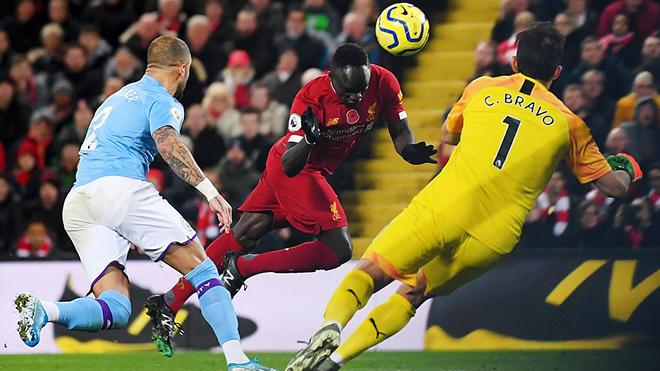 Ket qua bong da, kết quả bóng đá, kết quả Liverpool vs Man City, Liverpool vs Man City, Liverpool đấu với Man City, kết quả Ngoại hạng Anh, bóng đá Anh, BXH bóng đá Anh, Mane