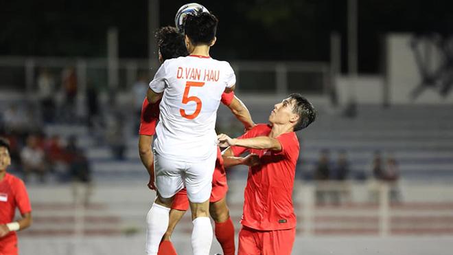 U22 Vietnam vs U22 Indonesia, U22 Việt Nam 3-0 U22 Indonesia, Việt Nam vô địch SEA Games 2019, Việt Nam vô địch SEA Games 30, Đoàn Văn Hậu, không chiến, bóng bổng
