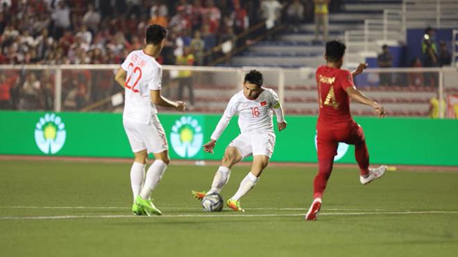 U22 Vietnam vs U22 Indonesia, U22 Việt Nam 3-0 U22 Indonesia, Việt Nam vô địch SEA Games 2019, Việt Nam vô địch SEA Games 30, Đoàn Văn Hậu, Hùng Dũng, Park Hang Seo