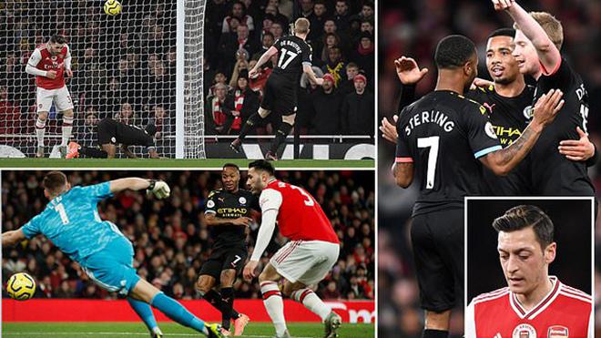 Ket qua bong da, ket qua bong da hom nay, kết quả bóng đá Anh, kết quả Ngoại hạng Anh, kết quả Arsenal vs Man City, Arsenal đấu với Man City, video Arsenal 0-3 Man City
