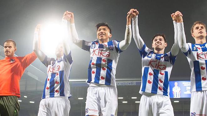 Đoàn Văn Hậu ra mắt SC Heerenveen:Bước chân nhỏ trên chặng đường lớn