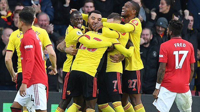 MU, tin bong da MU, bong da hom nay, ket qua bong da, kết quả bóng đá hôm nay, kết quả Ngoại hạng Anh Watford vs MU, video Watford vs MU, MU sợ đội nhỏ, De Gea, Ole, kqbd