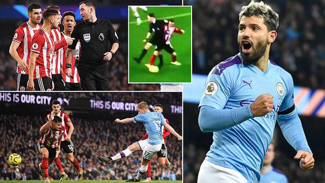 Ket qua bong da, ket qua bong da hom nay, kết quả bóng đá, kết quả bóng đá Anh, kết quả Ngoại hạng Anh, Man City Sheffield, video Man City 2-0 Sheffield, bxh bóng đá Anh