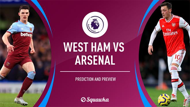 Chú thích ảnhLich thi dau bong da hom nay, truc tiep bong da, trực tiếp bóng đá, Arsenal đấu với West Ham, West Ham vs Arsenal, xem bóng đá trực tuyến, K+, K+PM, BXH bóng đá Anh