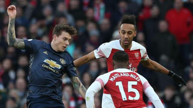 Ngoại hạng Anh vòng 21: Arsenal gieo sầu cho MU. Man City, Liverpool tịnh tiến