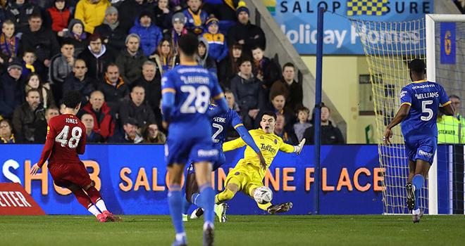 ket qua bong da, Shrewsbury vs Liverpool, video Shrewsbury 2-2 Liverpool, kqbd, kết quả Shrewsbury vs Liverpool, kết quả bóng đá, kết quả vòng 4 cúp FA, Liverpool, cúp FA