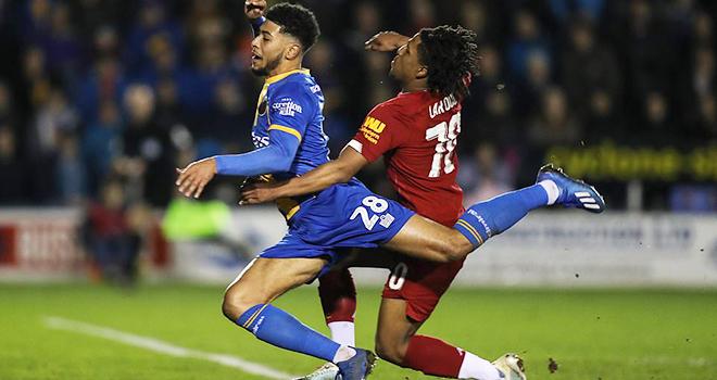 ket qua bong da, Shrewsbury vs Liverpool, video Shrewsbury 2-2 Liverpool, kqbd, kết quả Shrewsbury vs Liverpool, kết quả bóng đá, kết quả vòng 4 cúp FA, Liverpool, cúp FA, phạt đền