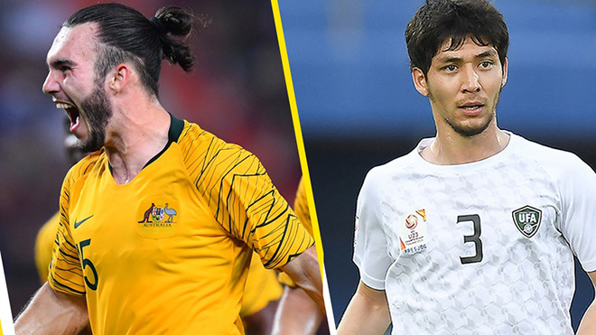 Xem trực tiếp tranh hạng ba U23 châu Á: Uzbekistan vs Australia. VTV6 trực tiếp
