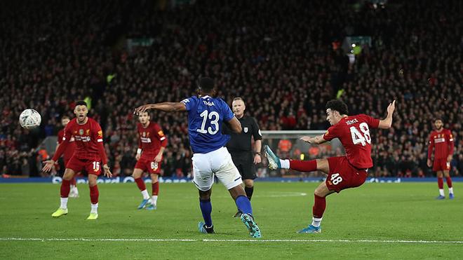 Ket qua bong da, kết quả bóng đá, Liverpool vs Everton, video Liverpool 1-0 Everton, kết quả cúp FA, kết quả bóng đá hôm nay, Minamino ra mắt Liverpool, bong da, bóng đá