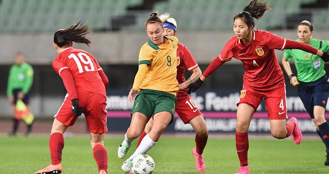Ket qua bong da, kết quả bóng đá, nữ Úc vs Trung Quốc, Australia vs Trung Quốc, nữ Úc đấu với Trung Quốc, vòng loại Olympic 2020, Ket qua bong da hom nay, bong da, kqbd
