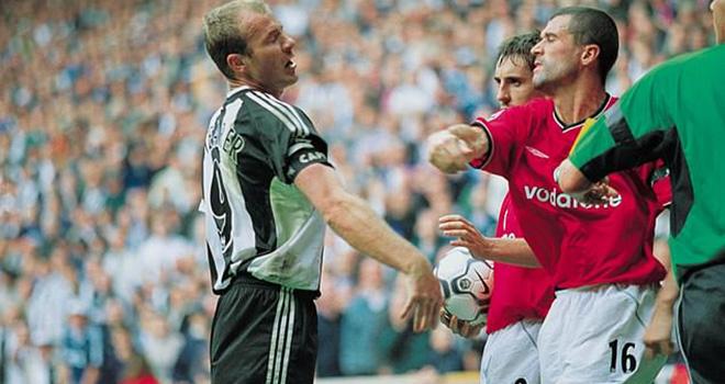 bong da, bong da hom nay, Alan Shearer vs Roy Keane, Newcastle vs MU, Thẻ đỏ, tin tuc bong da, tin tuc bong da hom nay, tin bóng đá, MU, tin bóng đá MU, tin tức bóng đá