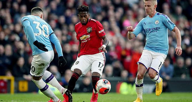 Ket qua bong da, MU vs Man City, Video MU 2-0 Man City, BXH Ngoại hạng Anh, kết quả Ngoại hạng Anh, kết quả bóng đá hôm nay, Martial, Fred, Bruno Fernandes, Ederson, kqbd