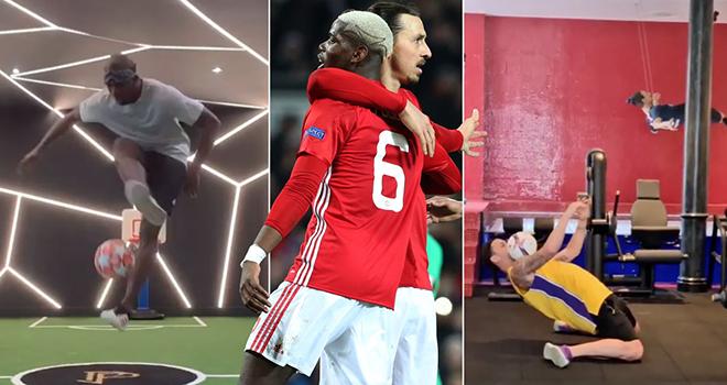 Bong da, Bóng đá, Tin tức bóng đá, MU, Pogba và Ibrahimovic so tài trực tuyến, bong da hom nay, bóng đá hôm nay, Pogba vs Ibra, tin tức MU, Pogba, Ibrahimovic, Covid-19