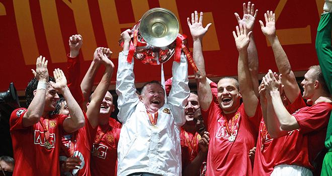 MU, Bong da, Tin tức bóng đá, Lần duy nhất Sir Alex ăn mừng như điên dại cùng MU, bóng đá, tin bóng đá, tin bóng đá MU, tin tức MU, Sir Alex, Patrice Evra, Cúp C1 2008