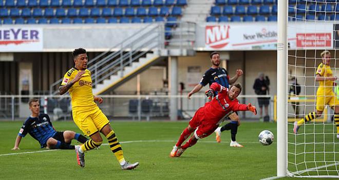Ket qua bong da, Paderborn vs Dortmund, Video Paderborn 1-6 Dortmund, Sancho, MU, Tin tức MU, chuyển nhượng MU, tin bóng đá MU, Kqbd, bong da, bóng đá, kết quả Bundesliga