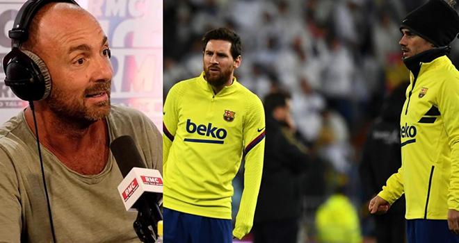 Bong da, Bóng đá hôm nay, Dugarry khuyên Griezmann: Hãy đấm thẳng vào mặt Messi, Barcelona, Barcelona khủng hoảng, lịch thi đấu bóng đá Tây Ban Nha, Messi, Griezmann