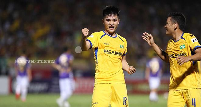 Ket qua bong da, Hà Nội vs SLNA, Kết quả V League 2020, Bảng xếp hạng V League, video Hà Nội 0-1 SLNA, Văn Hoàng, Hùng Dũng, Quang Hải, kết quả bóng đá, kqbd, bong da