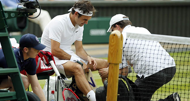 Tennis, Tin tennis, quần vợt, Federer nghỉ hết năm, Federer tái phát chấn thương, Federer, Federer chấn thương, US Open, Mỹ mở rộng, Roland Garros, Pháp mở rộng, FedEx
