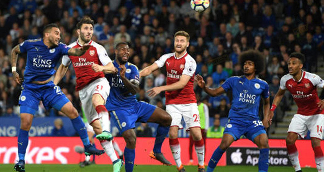 Lich thi dau bong da hom nay, Lịch thi đấu bóng đá Anh, Arsenal Leicester, K+, K+PM, lịch thi đấu bóng đá, Arsenal đấu với Leicester, truc tiep bong da, BXH Anh, Arsenal