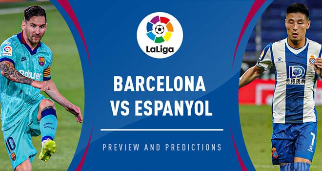 Lich thi dau bong da hom nay, Lịch thi đấu La Liga, Barcelona vs Espanyol, BĐTV, Barcelona đấu với Espanyol, Lịch thi đấu bóng đá Anh, Brighton vs Liverpool, BXH Anh
