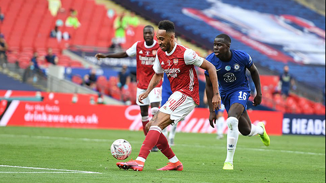 Video bàn thắng Arsenal 2-1 Chelsea: Aubameyang rực sáng, Pháo thủ lên ngôi