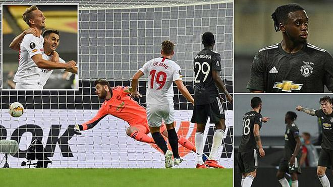 ĐIỂM NHẤN Sevilla 2-1 MU: Quỷ đỏ dứt điểm siêu tệ, Ole còn non so với Lopetegui