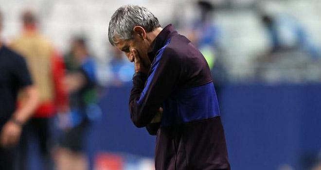 Barcelona sa thải Quique Setien, Ronald Koeman dẫn dắt Barcelona, Ghế HLV Barca, Barcelona 2-8 Bayern, Barcelona bị loại khỏi C1, Barcelona, Setien, Koeman, Bartomeu, C1