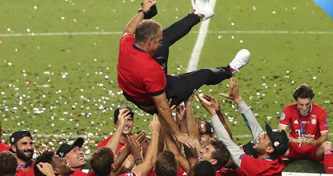 Ket qua bong da, PSG vs Bayern, Hansi Flick, Từ kẻ đóng thế đến người hùng ăn ba, kết quả cúp C1, kết quả Champions League, PSG 0-1 bayern Munich, Bayern vô địch Cúp C1