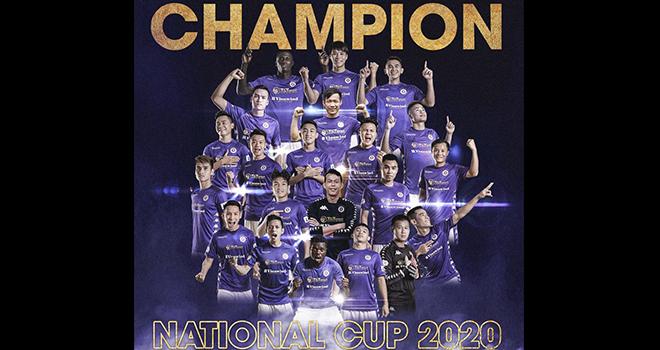 Ket qua bong da, Hà Nội vs Viettel, Video Hà Nội 2-1 Viettel, Cúp quốc gia 2020, kết quả chung kết cúp quốc gia 2020, Hà Nội, Viettel, bóng đá Việt Nam, Quang Hải