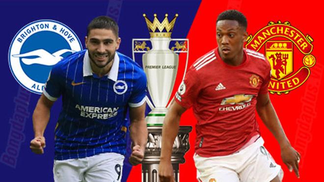 Cập nhật trực tiếp bóng đá Ngoại hạng Anh: Brighton vs MU, West Brom vs Chelsea