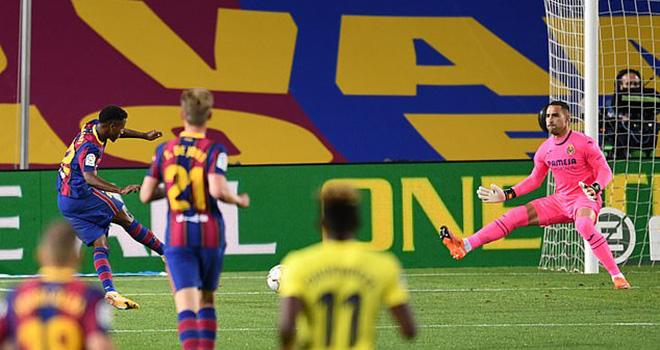 Ket qua bong da, Barcelona vs Villarreal, Kết quả La Liga, Suarez, Ansu Fati, BXH La Liga vòng 3, Kết quả Barcelona, Kết quả bóng đá Tây Ban Nha vòng 3, Kết quả Barca