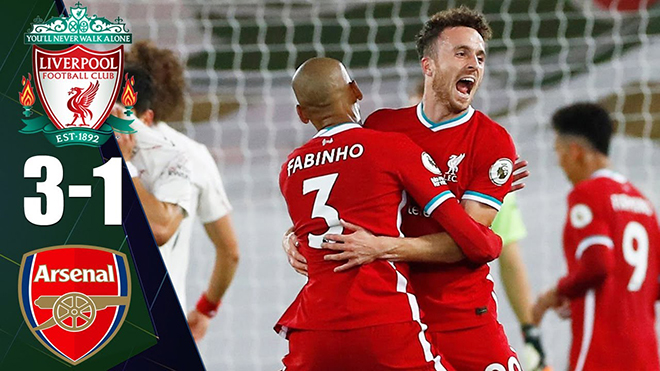 Liverpool 3-1 Arsenal: Bản lĩnh nhà vô địch