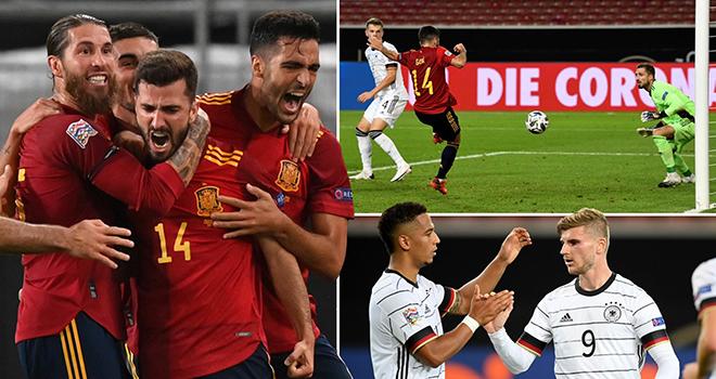 Ket qua bong da, Đức vs Tây Ban Nha, Kết quả Nations League, Đức 1-1 Tây Ban Nha, video Đức 1-1 Tây Ban Nha, kết quả bóng đá, kết quả Đức vs TBN, Nations League, kqbd