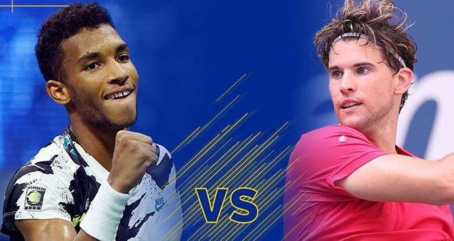 Lich thi dau US Open hom nay, Aliassime vs Thiem, Sakkari vs Serena, Thể thao TV, TTTV, lịch thi đấu Mỹ mở rộng, truc tiep tennis, trực tiếp quần vợt, US Open 2020
