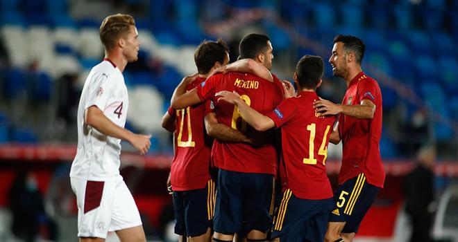 Ket qua bong da, Tây Ban Nha vs Thụy Sĩ, TBN vs Thụy Sĩ, Kết quả Nations League, kết quả TBN vs Thụy Sĩ, Video TBN 1-0 Thụy Sĩ, BXJ Nations League, kết quả Tây Ban Nha