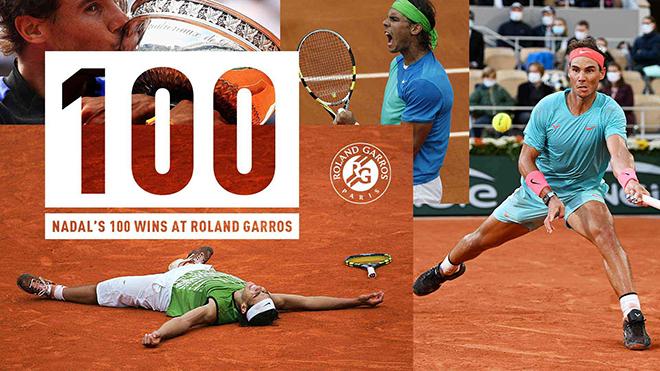 Vua đất nện Rafael Nadal và những con số biết nói