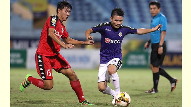 Lịch thi đấu bóng đá hôm nay: Trực tiếp Hà Nội vs Bình Dương, Quảng Ninh vs TPHCM. BĐTV, TTTV