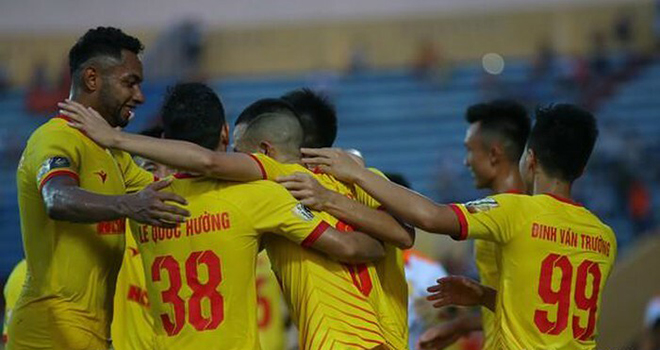 Lich thi dau bong da hom nay, SLNA vs Nam Định, Hải Phòng vs Quảng Nam, BĐTV, lịch thi đấu V-League, BXH V-League, SLNA đấu với Nam Định, Quảng Nam đấu với Hải Phòng
