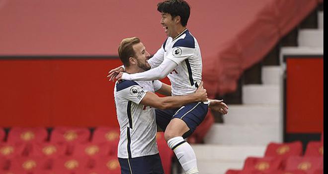 Kết quả MU vs Tottenham, Kết quả Ngoại hạng Anh, Bảng xếp hạng Ngoại hạng Anh, ket qua bong da, MU đấu với Tottenmham, MU 1-6 Tottenham, BXH Anh, hàng thủ MU, Son, Kane