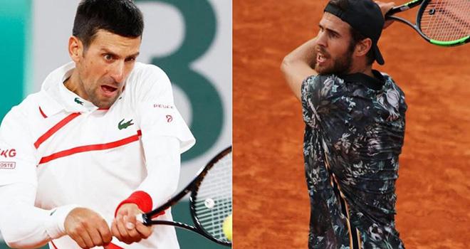 Lich thi dau Roland Garros, Djokovic vs Khachanov, Trực tiếp Roland Garros. TTTV, truc tiep tennis, trực tiếp Djokovic vs Khachanov, xem trực tiếp Djokovic vs Khachanov