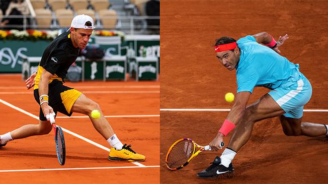 Lịch thi đấu Roland Garros 9/10: Trực tiếp Schwartzman vs Nadal, Djokovic vs Tsitsipas. TTTV