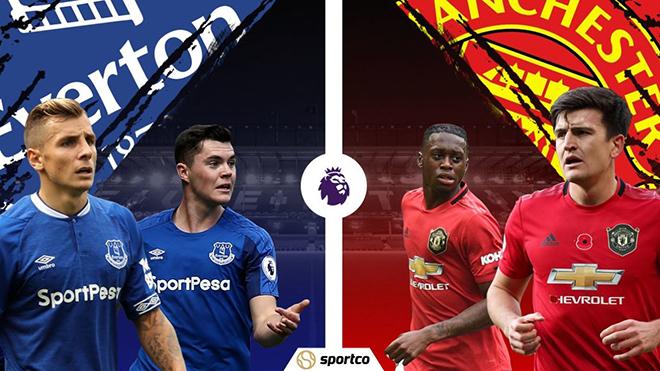 Lịch thi đấu bóng đá hôm nay: Trực tiếp Everton vs MU, Dortmund vs Bayern. VTV6, K+, K+PM